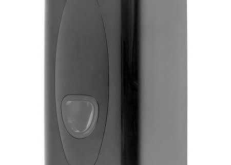 Toilet tissue dispenser kunststof zwart