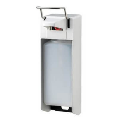Aluminium Zeep- en desinfectiemiddel dispenser