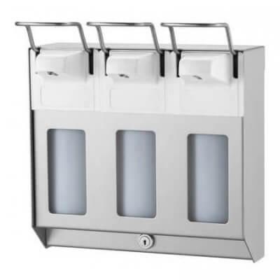 Zeep en desinfectie dispensers